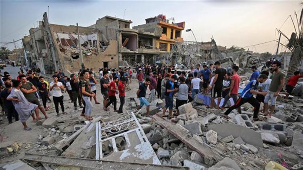 Iraq,  đánh bom xe, thương vong, biên giới Syria