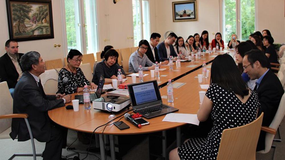 Vietnamese teaching, Germany, Vietnamese Embassy in Germany, department for education, overseas students, Vietnamese culture