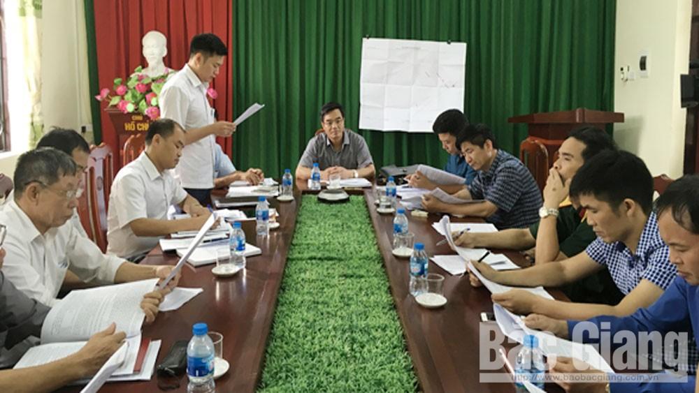 Cưỡng chế, thu hồi đất, xây dựng dự án, Song Khê, Nội Hoàng.