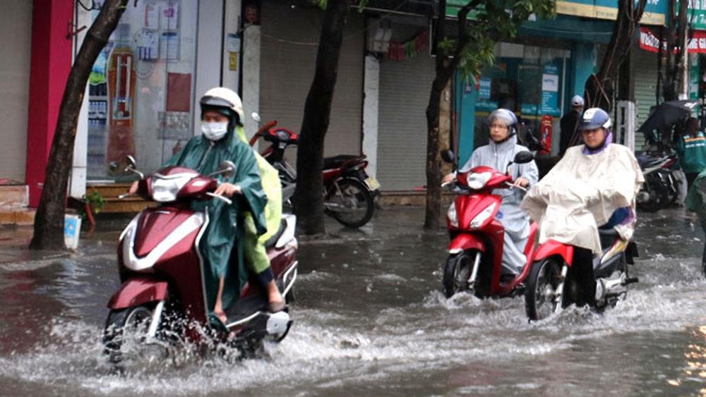 Trung tâm dự báo khí tượng thủy văn, thời tiết, Bắc Bộ, Bắc Trung Bộ, mưa rất to, rải rác có dông