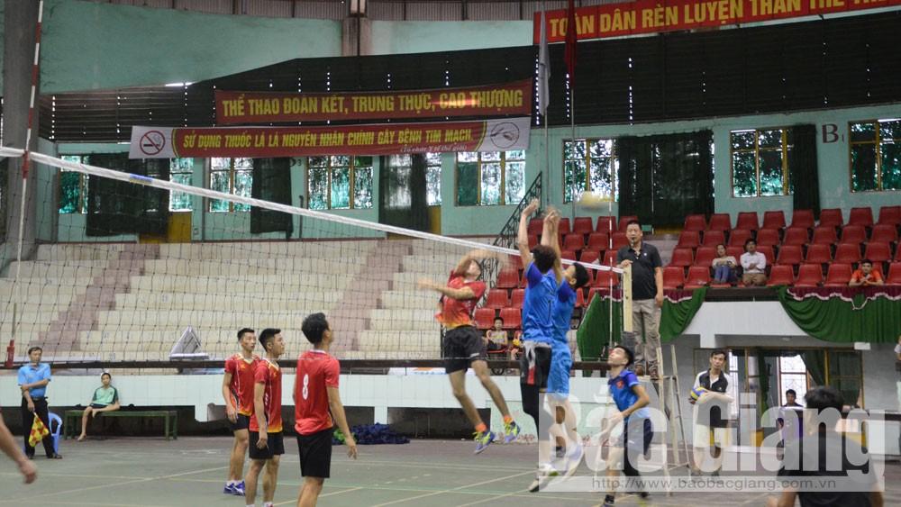 Đội tuyển Hiệp Hòa vô địch giải bóng chuyền nam tỉnh Bắc Giang năm 2019