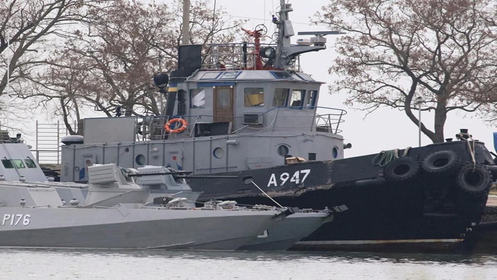 Nga, bắt giữ tàu, Tòa quốc tế kêu, thủy thủ Ukraine, Biển Đen, Biển Azov