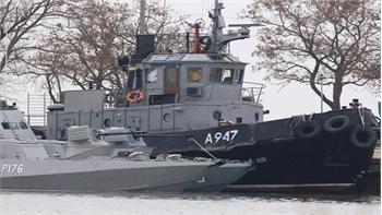 Phản ứng của Nga sau khi Tòa quốc tế kêu gọi thả các thủy thủ Ukraine