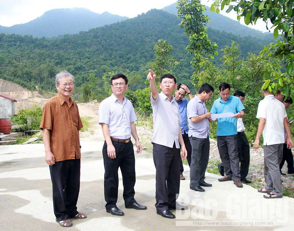 Bắc Giang, khu du lịch tâm linh - sinh thái Tây Yên Tử, Sơn Động, xã Tuấn Mậu, thôn Đồng Thông,