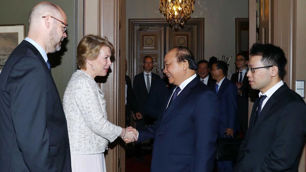 Thủ tướng Nguyễn Xuân Phúc, lãnh đạo các tập đoàn hàng đầu Thụy Điển, Electrolux, Oriflame, Scania, ABB, Ericsson, Volvo