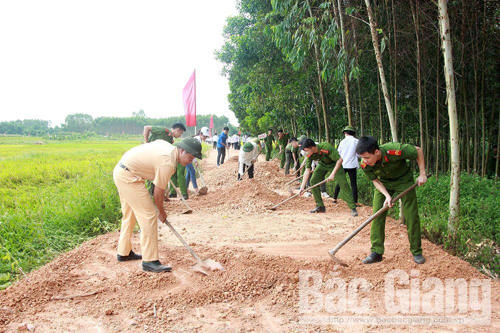 Bac Giang province, summer young volunteer campaign, emulative movement, 20th anniversary, Exam Season Support, socio-economic development, free health examination