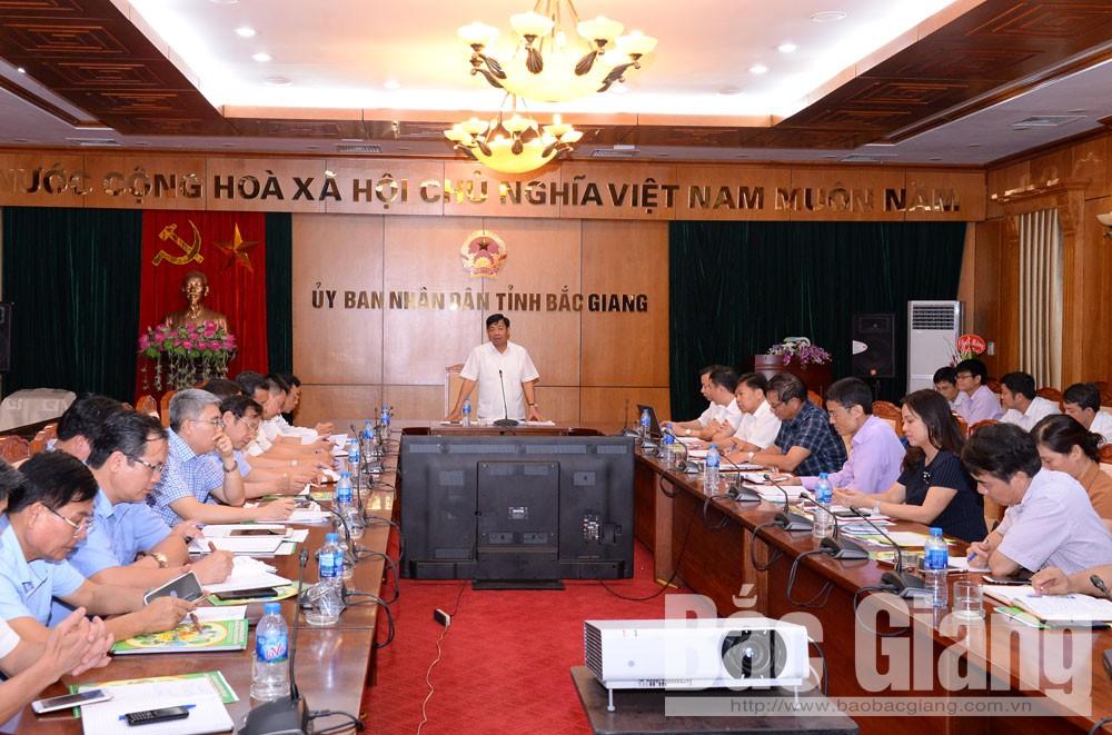 Bắc Giang xây dựng nông thôn mới, bộ tiêu chí, hồ sơ thẩm định, Phó Chủ tịch UBND tỉnh Dương Văn Thái, nông thôn mới, tỉnh Bắc Giang