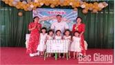 Lục Ngạn: Thăm, tặng quà 12 trường mầm non nhân dịp Tết Thiếu nhi