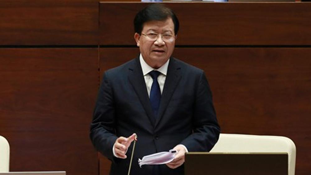 giám sát của người dân, quản lý, sử dụng đất đai, Luật Đất đai, Phó Thủ tướng Trịnh Đình Dũng