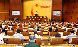 Quốc hội cho ý kiến vào 3 dự án Luật