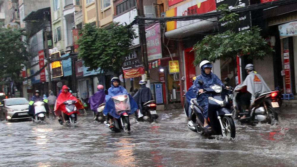 Thời tiết, Bắc Bộ, Bắc Trung Bộ, mưa vừa, mưa to , Trung tâm Dự báo khí tượng thuỷ văn Quốc gia