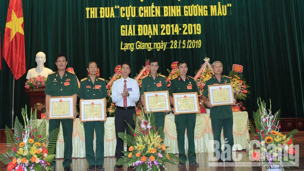 26 tập thể, cá nhân được khen thưởng tại Đại hội CCB gương mẫu