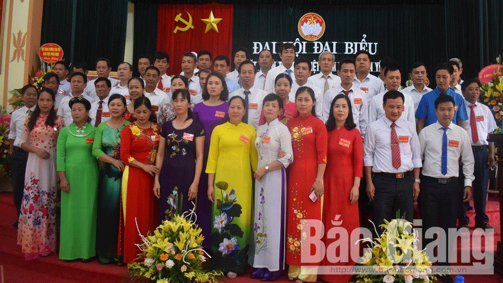 Đại hội; MTTQ; Tân Yên; dân vận, Dương Tuyết Lan.