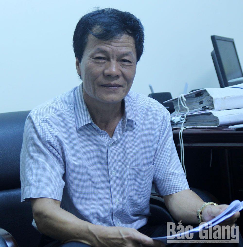 cải cách hành chính, parindex, ông Nguyễn Văn Nghĩa, Sở  Nội vụ, xếp hạng cải cách hành chính , bắc giang