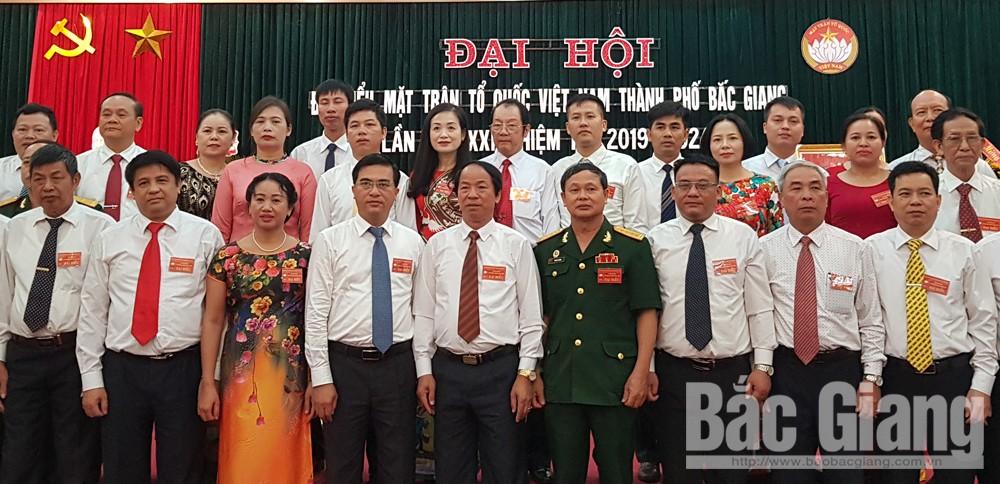 Đại hội, MTTQ TP Bắc Giang, Bắc Giang, đô thị