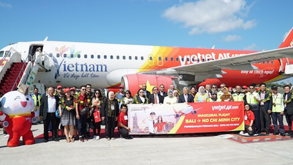 Vietjet khai trương đường bay thẳng đến Bali