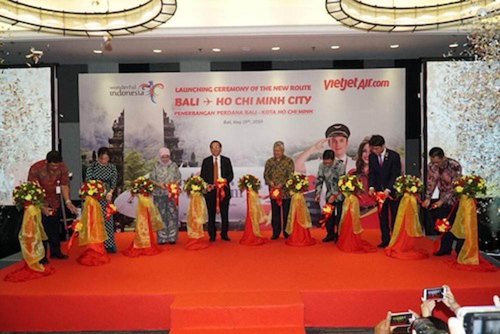 Vietjet, Bali, Bay thẳng Bali, Đường bay mới