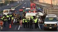 20 người bị chết cháy trong tai nạn giao thông thảm khốc ở Mexico
