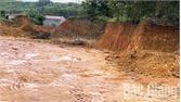 Xử phạt hành chính cá nhân khai thác đất trái phép tại xã Tuấn Mậu