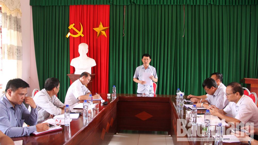 Infrastructure investment, people's living standards, disadvantaged areas, Bac Giang province, disadvantaged villages, poverty rate, socio-economic development tasks, agricultural produce