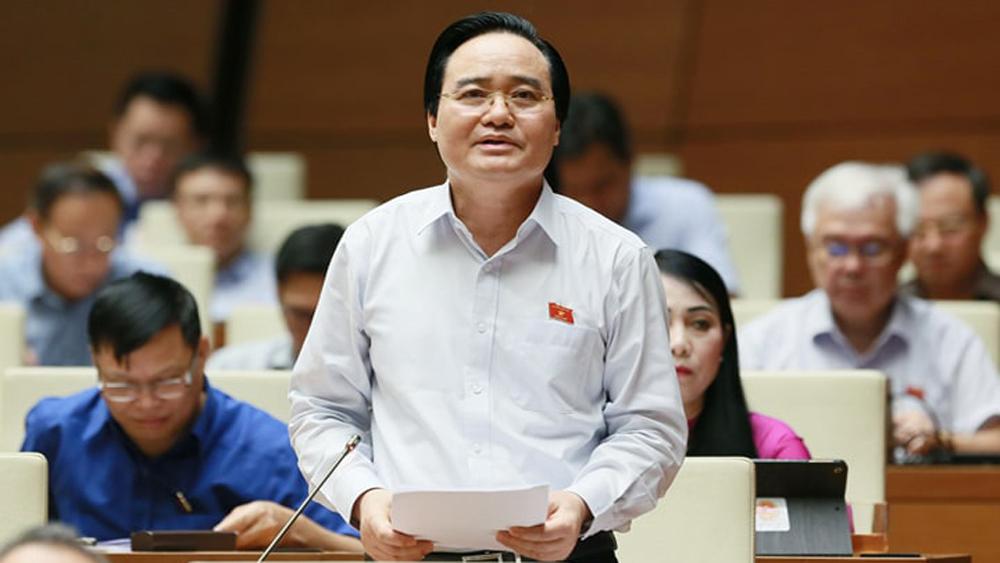 Bộ trưởng Phùng Xuân Nhạ, gian lận thi cử, nâng khống điểm thi