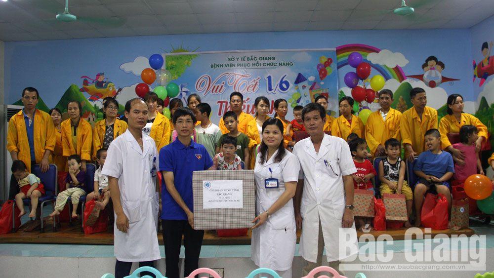 Sức khỏe, xã hội, tết thiếu nhi, 1-6, trẻ tự kỷ, bệnh viện phục hồi chức năng tỉnh