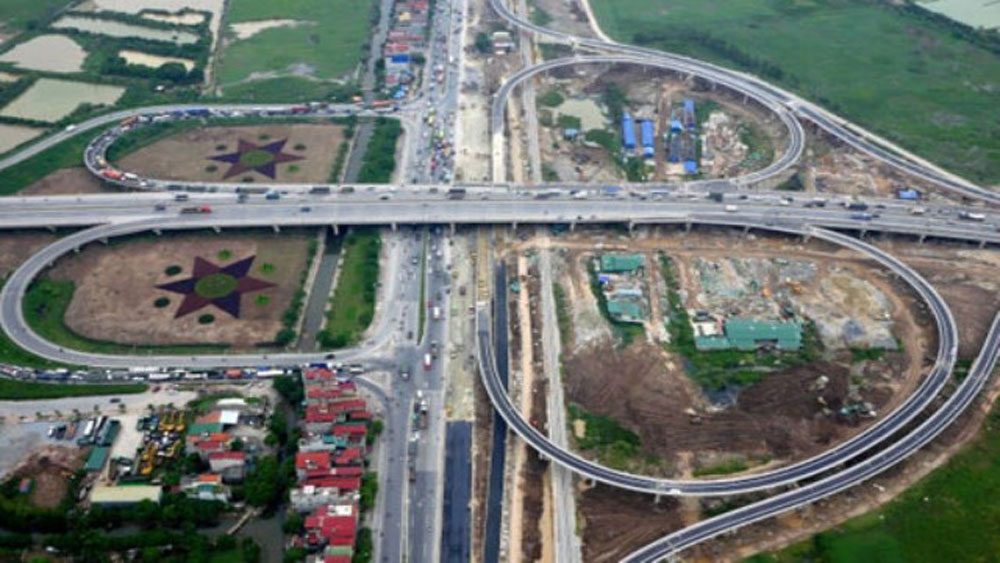Hanoi, construction, two new ring roads, local transport infrastructure, Department of Transport