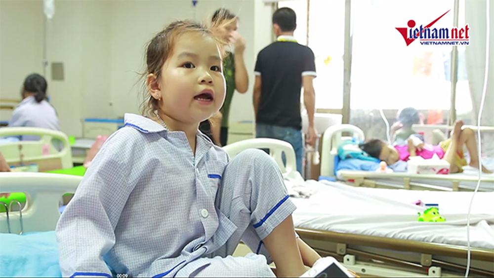 Lời ước 1-6 rơi nước mắt của em bé ở Viện Huyết học Truyền máu Trung ương