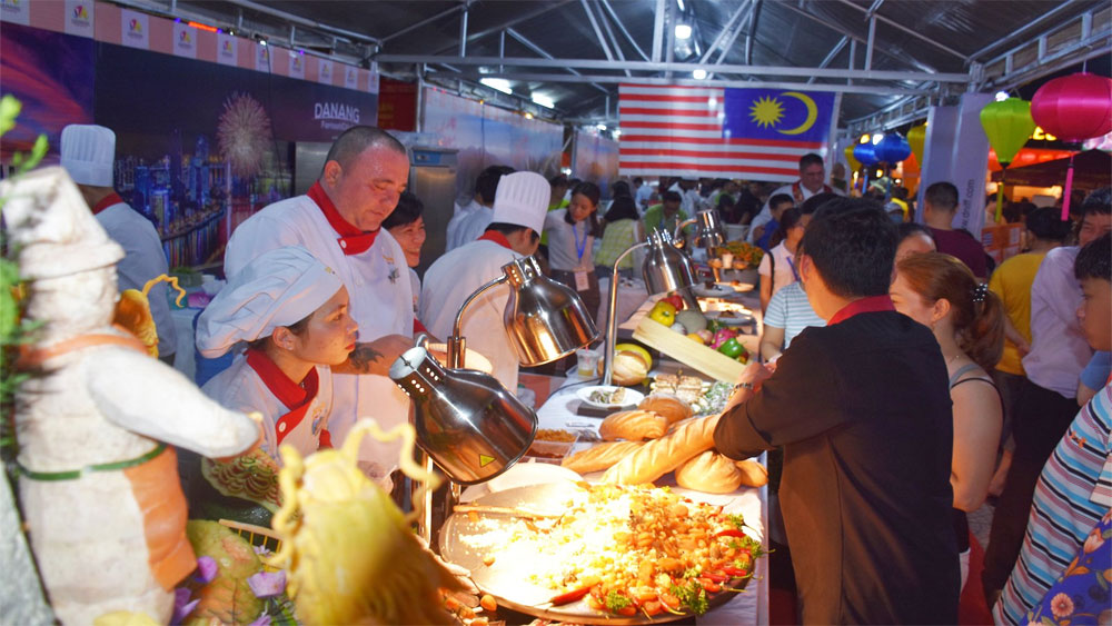 Độc đáo Lễ hội ẩm thực quốc tế Đà Nẵng 2019