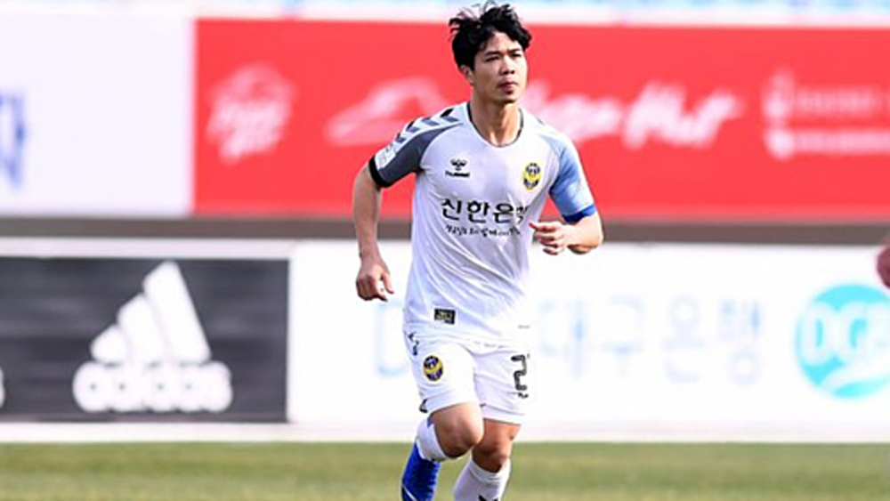 Vietnamese striker parts ways with Korean club, headed for France