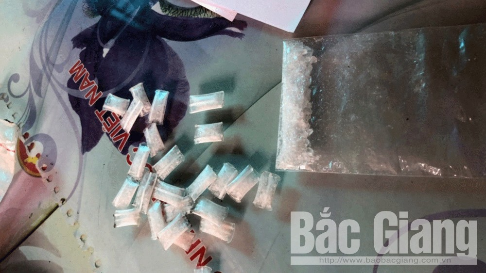 Công an TP Bắc Giang bắt hai đối tượng phạm tội về ma túy