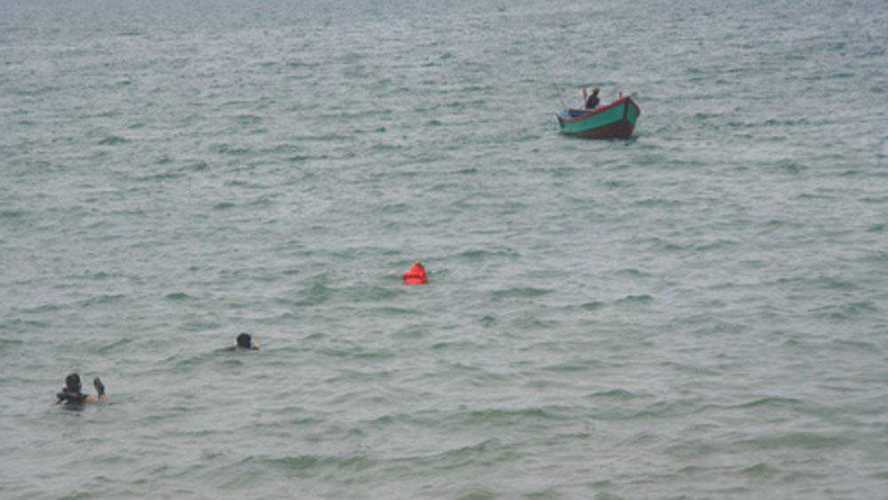2 chiến sĩ nghĩa vụ, Quảng Bình, chết đuối, tắm biển, bãi biển Quang Phú