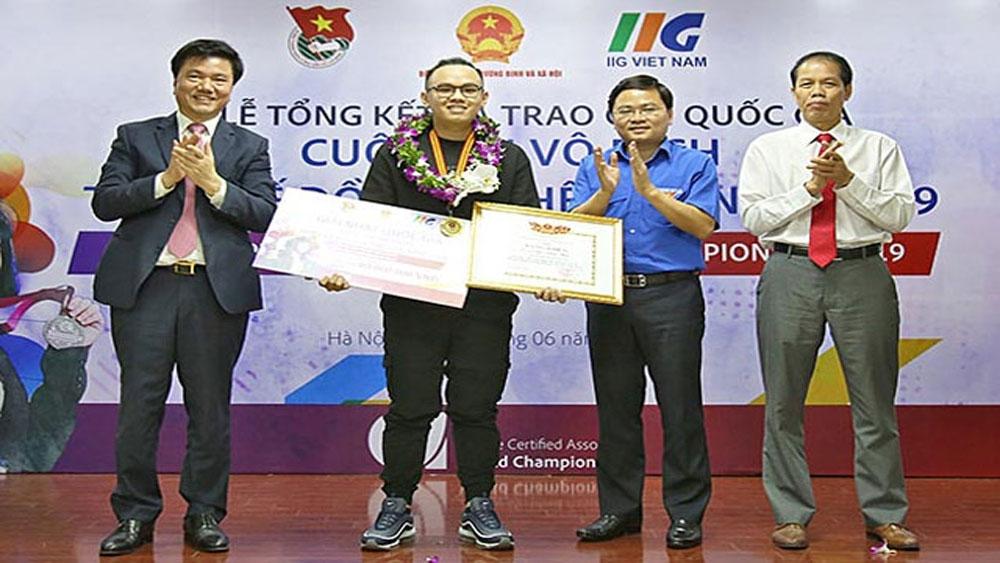 Ba thí sinh Việt Nam, lọt vào chung kết, cuộc thi đồ họa thế giới, Trần Ngọc Anh Khoa,