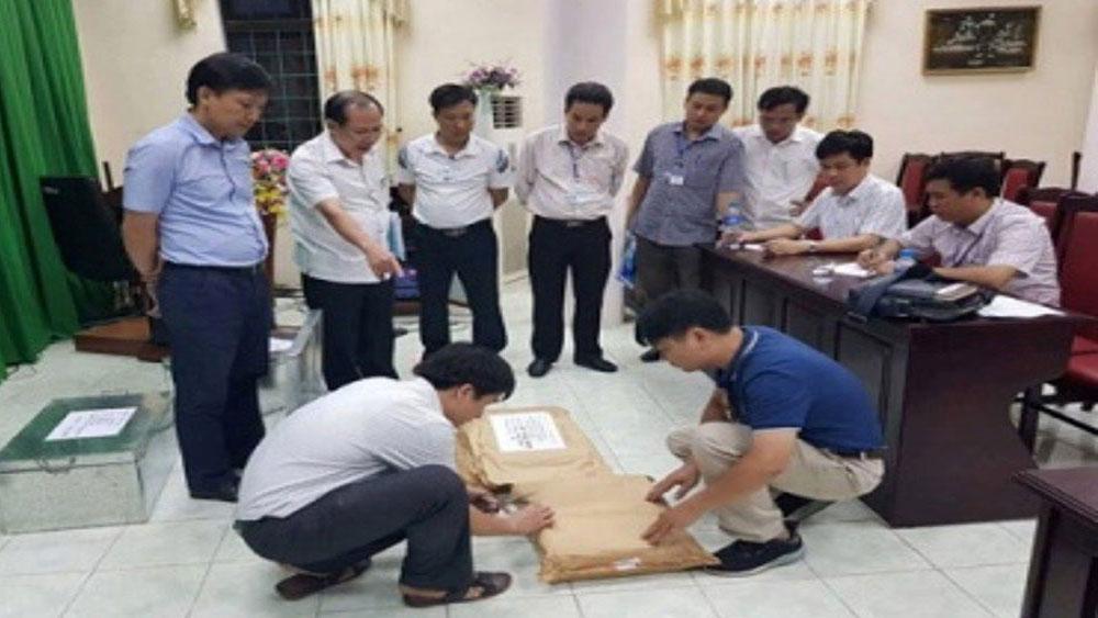 Sai phạm, Kỳ thi THPT quốc gia 2018, Hà Giang, đề nghị, truy tố 5 bị can