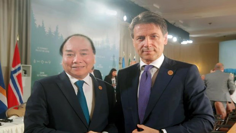 Italian PM's Vietnam visit hoped to bolster bilateral partnership