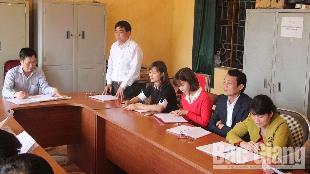 xây dựng đảng, đảng viên, Bắc Giang, đảng viên, phát triển đảng, Ban Tổ chức Tỉnh ủy