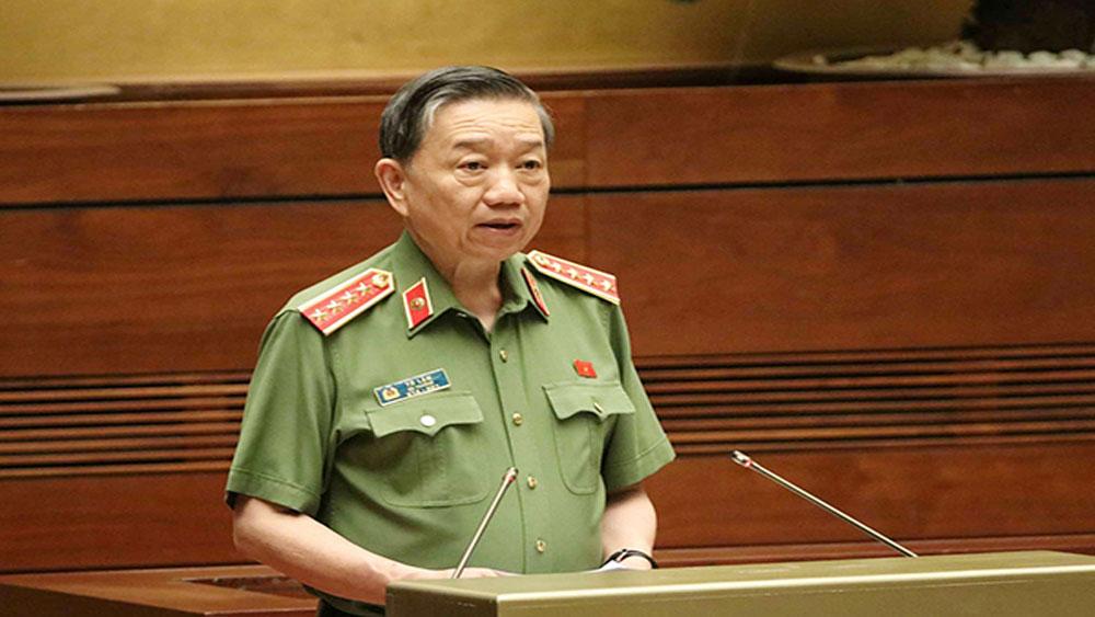 Bộ trưởng Công an Tô Lâm mở màn phiên chất vấn