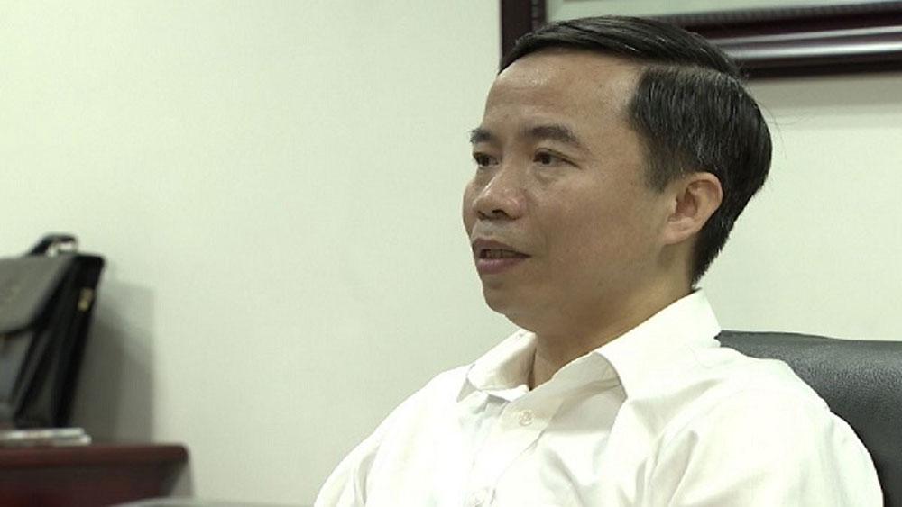 Ông Dương Thanh Tùng - Giám đốc Sở Nông nghiệp và PTNT tỉnh Bắc Giang.