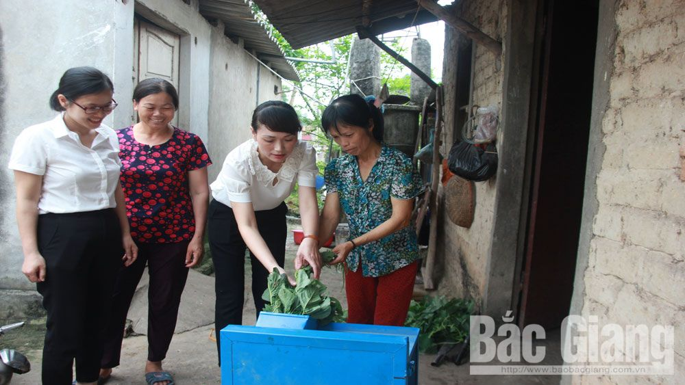 Bac Giang province, poor women, disadvantaged women, stable income, Women's Unions, means of livelihood
