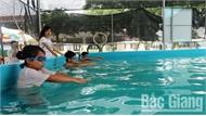 Lục Nam phổ cập dạy bơi, đẩy lùi nguy cơ đuối nước