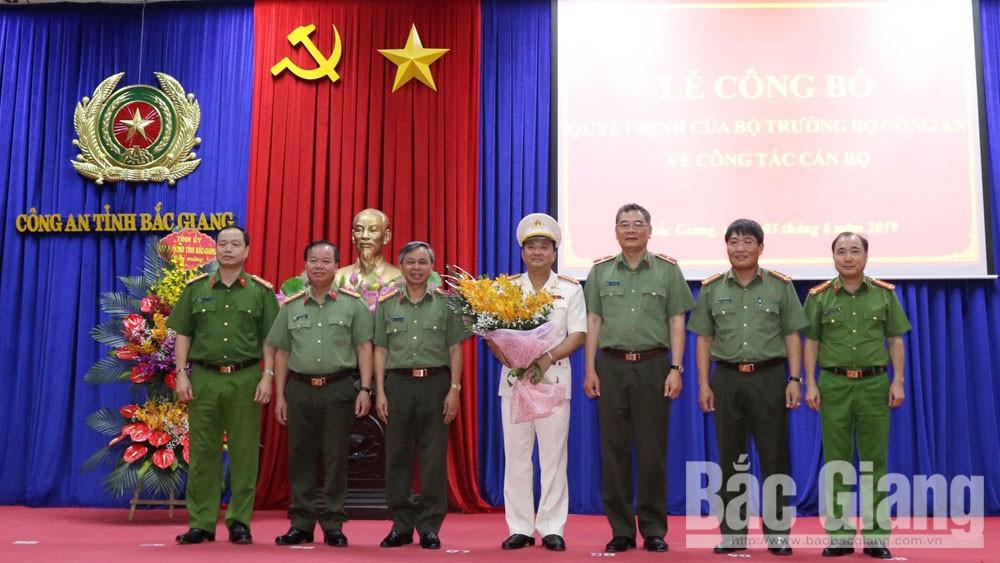 Đại tá Nguyễn Mạnh Hùng, Công an Bắc Giang, Trưởng Công an huyện Việt Yên, Thiếu tướng Tô Ân Xô, Nhân sự mới