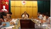 Thẩm định, thẩm tra một số nội dung trình kỳ họp thứ 7, HĐND tỉnh khóa XVIII