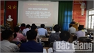 Tân Yên: Tiêm bổ sung vắc xin sởi - rubella vào ngày 12 và 13-6