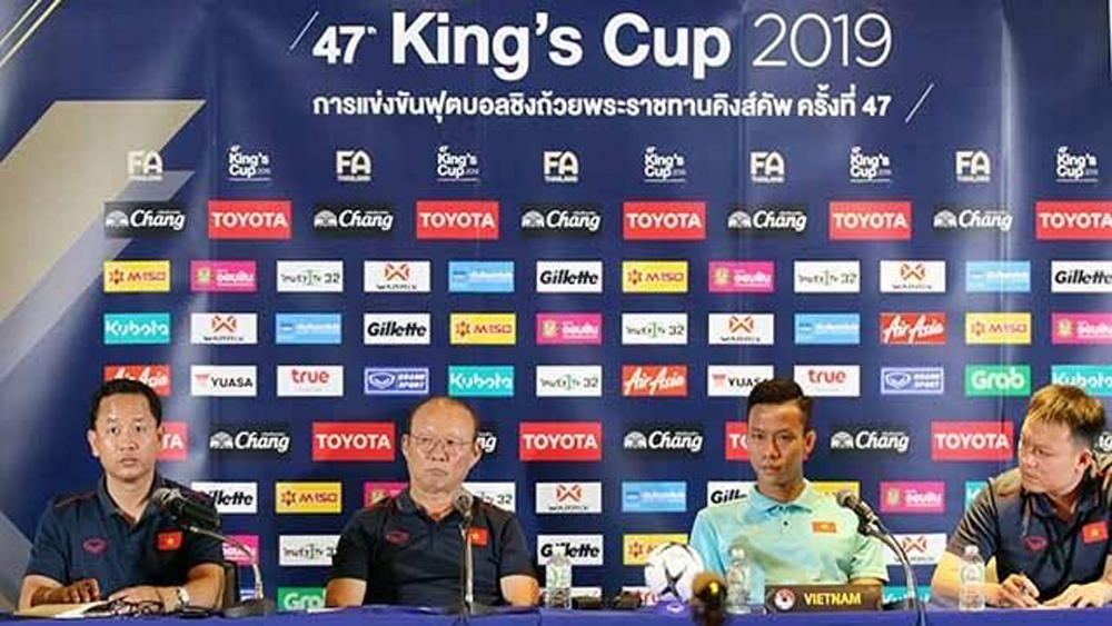 "Coach Park Hang-seo: ""We do not fear any opponents"""