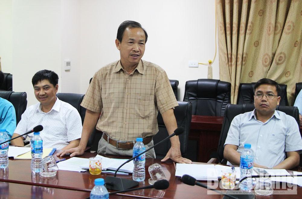 Ban Kinh tế và Ngân sách, HĐND tỉnh, Tỉnh Bắc Giang