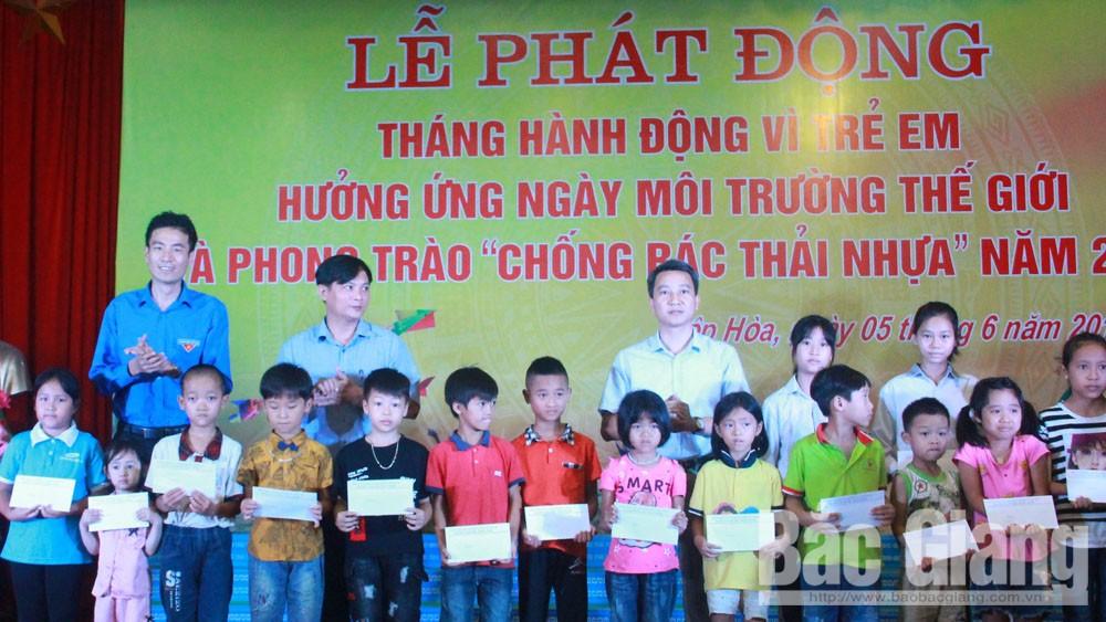 hành động vì trẻ em,phát động, hiệp hòa, đuối nước, tai nạn thương tích