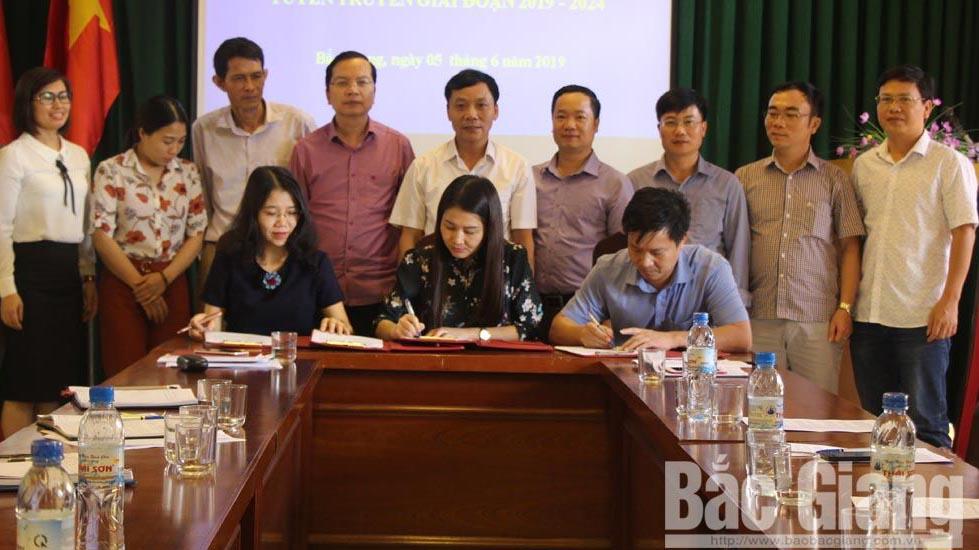 Liên minh Hợp tác xã, tỉnh ký kết hợp tác tuyên truyền,