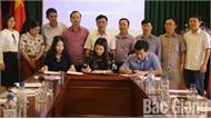 Liên minh Hợp tác xã tỉnh ký kết chương trình phối hợp tuyên truyền với Báo Bắc Giang, Đài PT&TH tỉnh