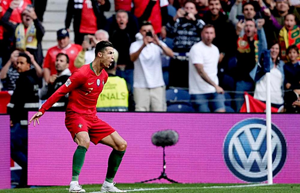Ronaldo, Bồ Đào Nha, Nations League, Thụy Sỹ, chung kết