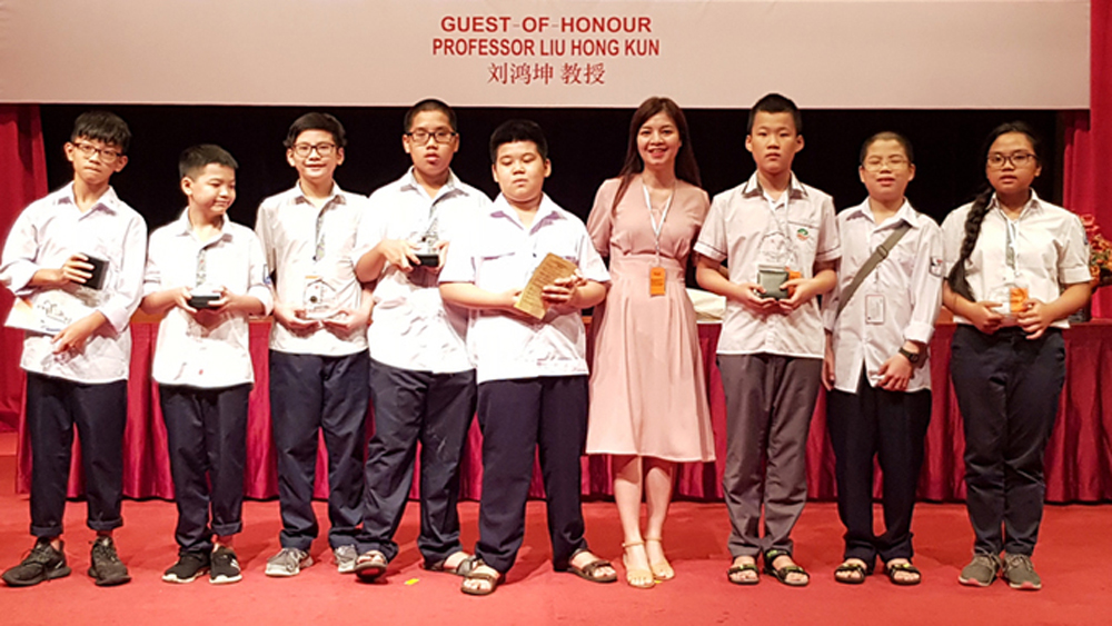 Vietnamese students, gold medals, Asia Pacific, math contest, Vietnamese team, mathematics competition, Primary Schools